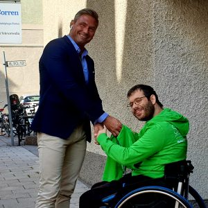 SAAND Personlig assistans sponsrar Rikard Molin